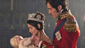 The Monarch faces the struggles of motherhood as the series makes a welcome return to our screens.