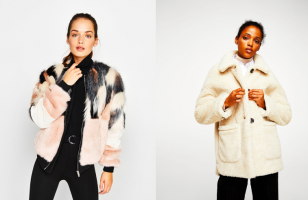 Cosy up this AW season with our favourite faux fur pieces.