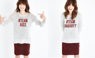 Get into the festive groove with one of these seasonal sweaters.