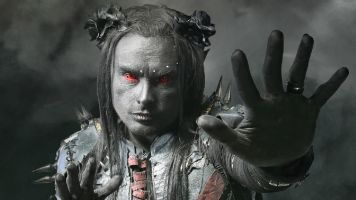 The metal messiah Dani Filth talks costumes, Cryptoriana and playing a metal gig in a church.