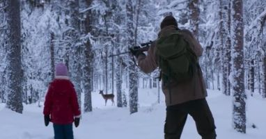 Joachim Trier releases a scene that proves hunting trips don't always warrant a kill.