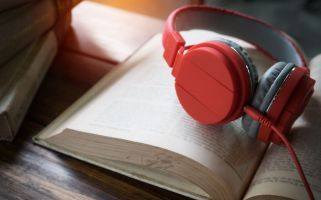 Audiobooks are a great way to keep reading when you are in the car, on a walk, or doing other task that don't require to much focus.