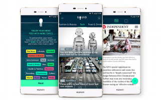 Tailored news and an innovative way of sharing make the app really interesting.