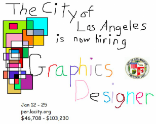 "The city of Los Angeles seriously needs a new ""graphics designer"""