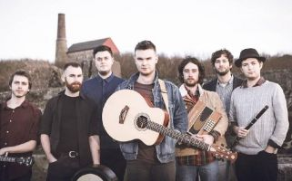"We chatted with the lead singer of ""one of the most exciting and energetic young bands on the folk scene""."