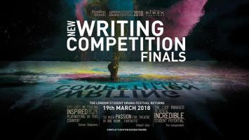 The New Writing Competition finals will be held in the West End's very own Nimax Theatre.