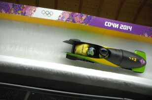 Feel the rhythm, feel the rhyme, get on up, it's bobsled time!