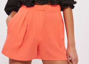 Goodbye denim, and hello to big, bold, beautiful shorts.