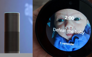 Michael Margolis asked Alexa to remind him to feed his baby.