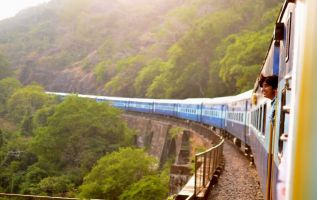 Train travel is a viable, cleaner and greener option outside of the UK.