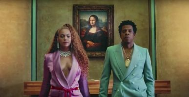 Get your Yoncé on in the decadent halls of the Louvre.
