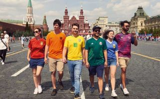 Spain's largest LGBT+ rights organisation sent people from six countries to Russia for the Hidden Flag project.