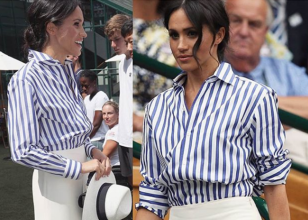 The stars were out in force at this year's Wimbledon. Here's our pick of the best dressed.