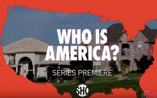 Baron Cohen is back – just in time – with his new show: Who is America?