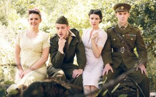 Tucked away in a quiet corner of Central London, Antic Disposition's 'Much Ado About Nothing' delights with an adaptation set in 1940s France.