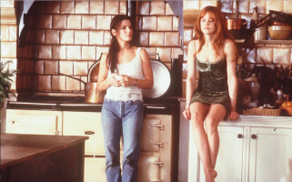 Practical Magic stars Sandra Bullock and Nicole Kidman as witches in this 1998 romantic comedy
