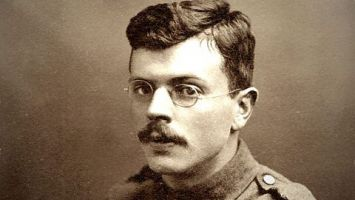 A poet of the First World War.