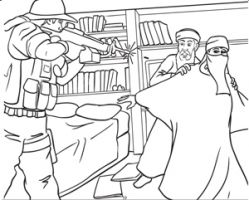 An American publishing company have produced a 9/11 children�s colouring book...