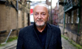George Galloway, Respect MP, is being accused of anti-Semitism after he stormed out of a debate at Oxford University saying