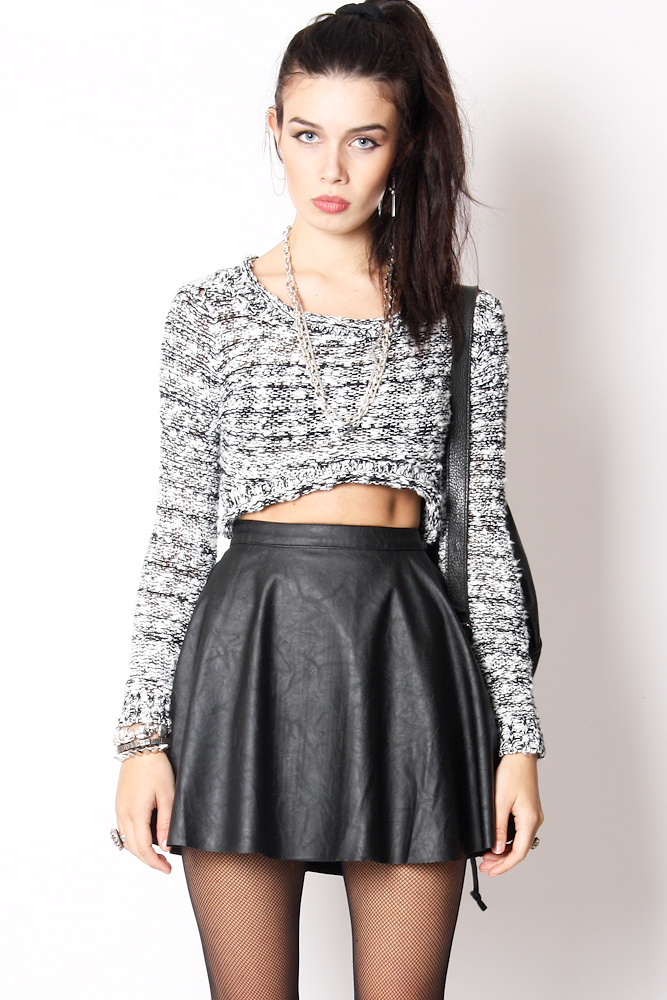 Casual Skater Skirt Outfits Skater Skirt Outfit Ideas